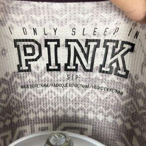 PINK Victoria's Secret Tops - Pink By Victoria's Secret Women's Sleep Top Size S